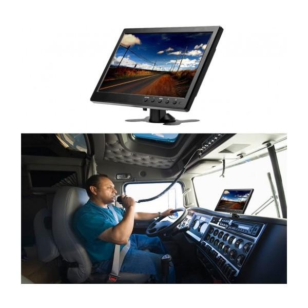 """10.1"""" LED Монитор Smart Technology M10, AV вход, HDMI вход, VGA ход, Дистанционно, DVD плейър"""