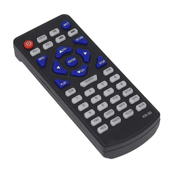 9 портативен телевизор с цифров тунер DVB-T2 Smart Technology TV9, 9 инча, Мултимедия