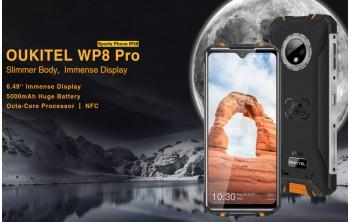 Oukitel WP8 PRO - Бюджетен IP68/IP69 смартфон с Android 10 и 5000 MAh батерия