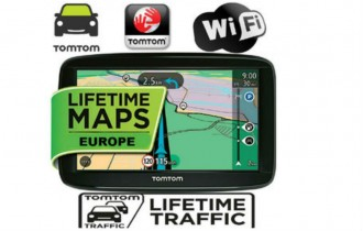 GPS НАВИГАЦИИ С ДОЖИВОТНО ОБНОВЯВАНЕ НА КАРТИТЕ НА ЕВРОПА ПРЕЗ Wi-Fi TOMTOM GO BASIC