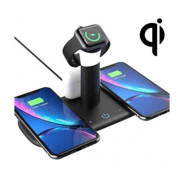 Безжично зарядно устройство с нощна лампа Smart Technology LH5
