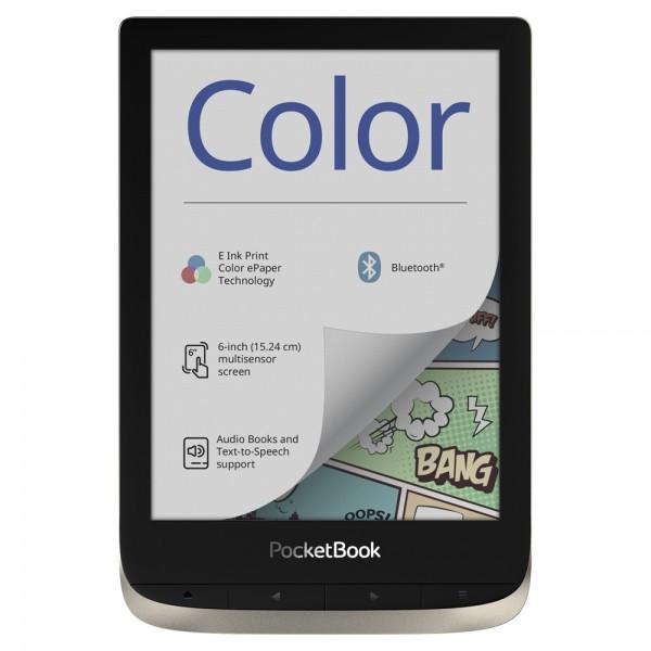 Електронна книга PocketBook PB633 Color, Moon Silver