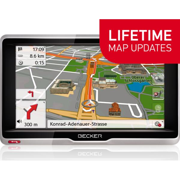 GPS НАВИГАЦИЯ BECKER ACTIVE 6 LIFETIME MAPS EU