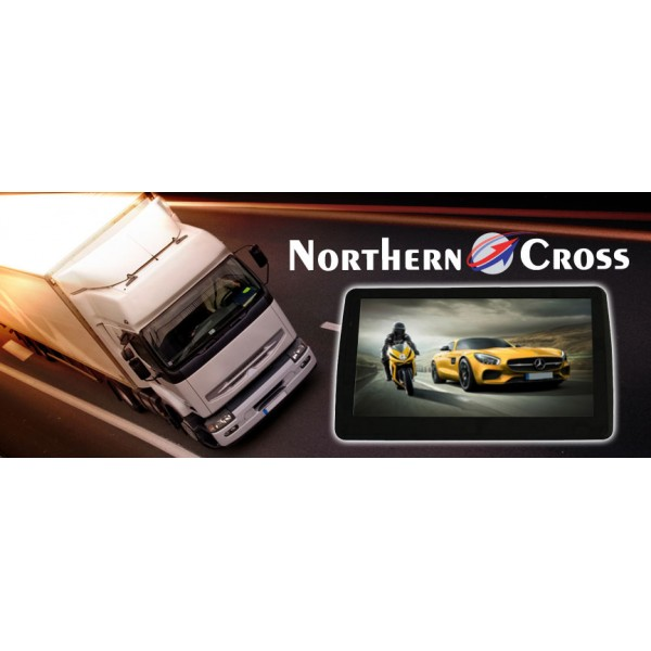 GPS НАВИГАЦИЯ NORTHERN CROSS NC-712S EU FM BT AV IN