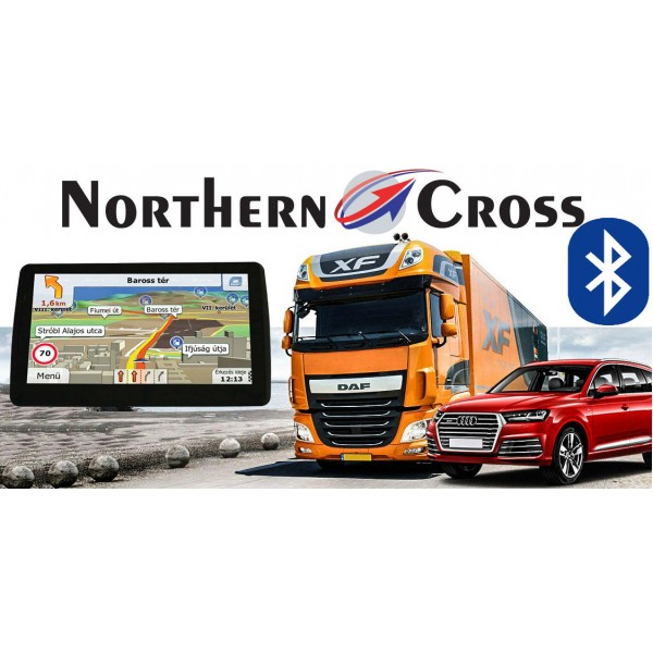 GPS НАВИГАЦИЯ NORTHERN CROSS NC-712S EU FM BT AV IN
