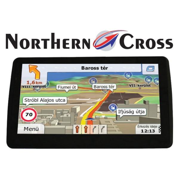 GPS НАВИГАЦИЯ NORTHERN CROSS NC-712S EU FM LIMITED EDITION
