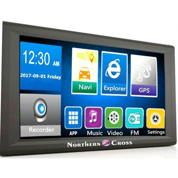 GPS НАВИГАЦИЯ NORTHERN CROSS NC-Q9A CAM, 9 ИНЧА, ВИДЕОРЕГИСТРАТОР, ANDROID, WI-FI