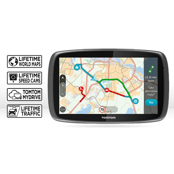 GPS НАВИГАЦИЯ TOMTOM GO 5100 WORLD LIFETIME MAPS