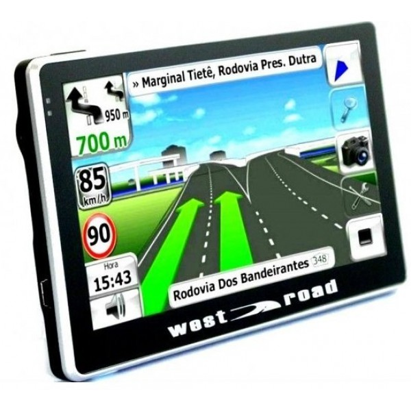 GPS НАВИГАЦИЯ WEST ROAD WR-5084S FMHD EU 800MHZ