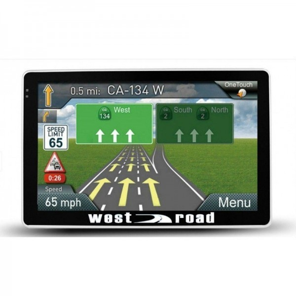 GPS НАВИГАЦИЯ WEST ROAD WR-5086S FMHD EU 800MHZ