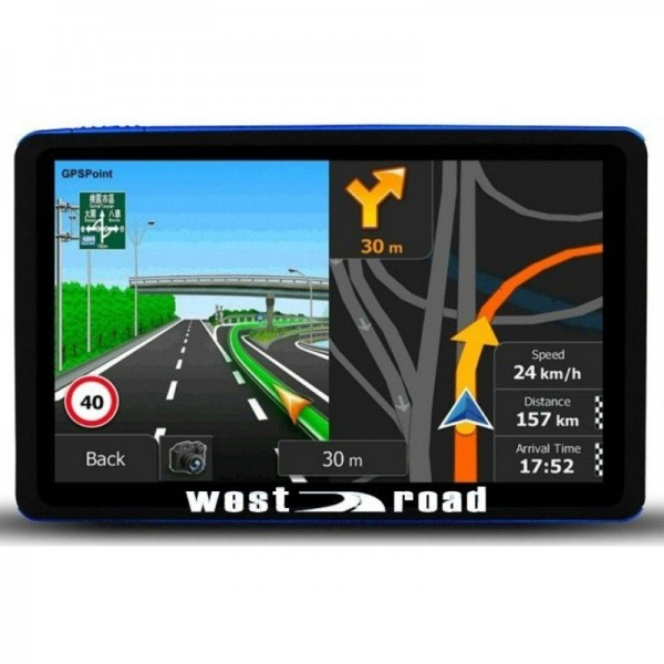GPS НАВИГАЦИЯ WEST ROAD WR-5088S FMHD 800MHZ EU