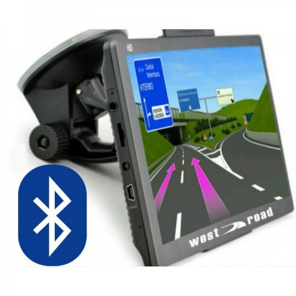GPS НАВИГАЦИЯ WEST ROAD WR-X900EU BT AVIN FM HD 800 MHZ 256MB RAM 8GB