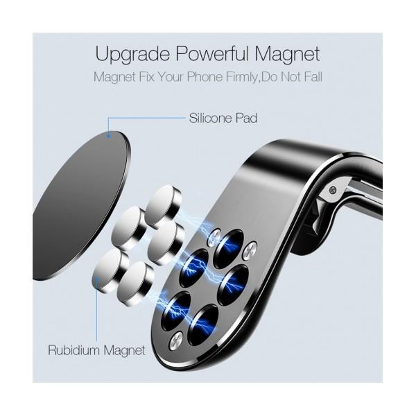 Универсална магнитна стойка за кола за GSM Magnetic Car Phone Holder
