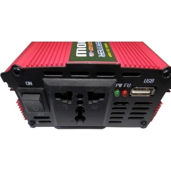 Висококачествен Инвертор на напрежение CEJ 12V или 24V - 220V 1000W