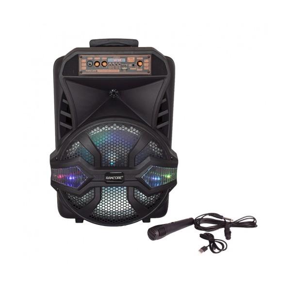 Активна тонколона Rancore RS121X, MP3, USB, BT, 12 инча, Жичен микрофон