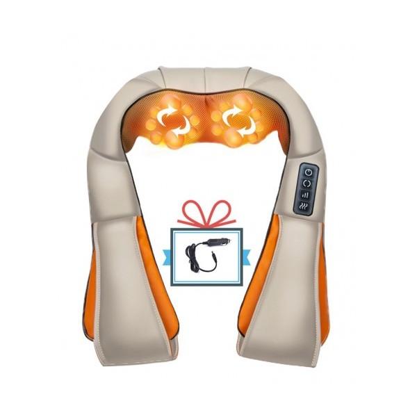 3D Шиацу масажор за цяло тяло с 4 бутона