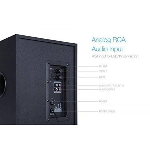 Тонколони FENDA T-200X 2.1, Bluetooth, 70W USB, SD, MP3, Радио