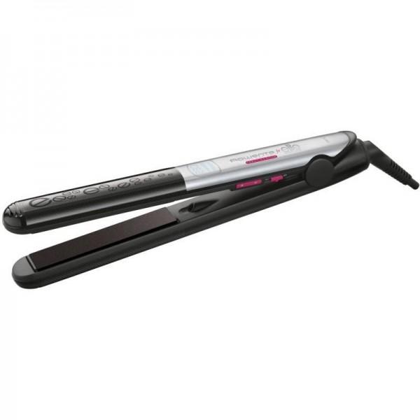Преса за коса Rowenta SF4522D0, LISS & CURL, LCD дисплей, 1,8м дължина на кабела, 230°C