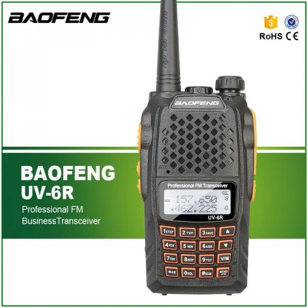 МОЩНА ДВУБАНДОВА РАДИОСТАНЦИЯ Baofeng UV-6R, 5W