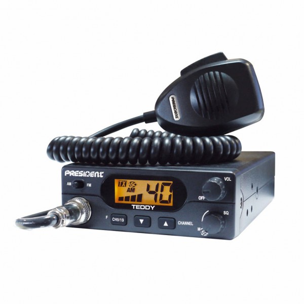 Радиостанция за камион PRESIDENT TEDDY ASC