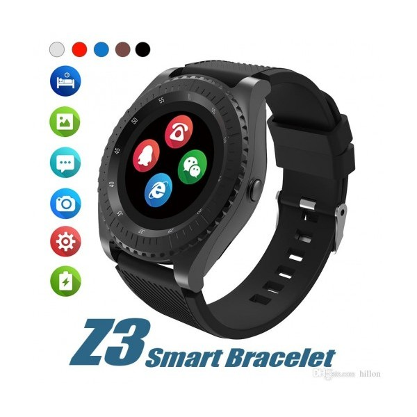Смарт часовник Smart Technology Z3, SIM карта, 3G, Bluetooth