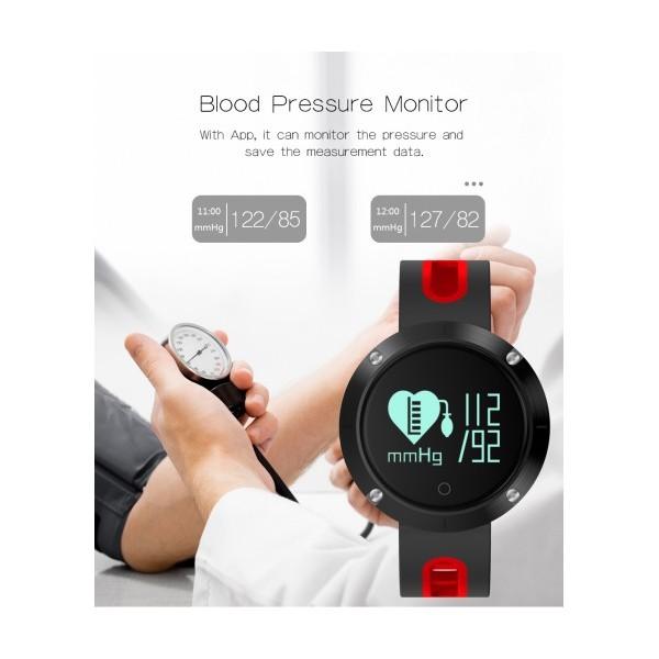 Влагоустойчив смарт часовник Smart technology DM58, Пулс, Кръвно налягане