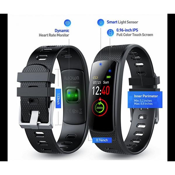 Влагоустойчива смарт гривна Smart technology I6 HRC, Пулс