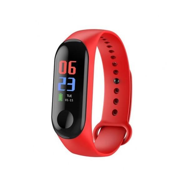 Смарт гривна Smart technology M12, Пулс, Кръвно налягане, влагоустойчива