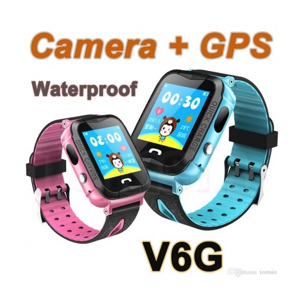 Детски смарт часовник Smart Technology V6G, GSM, GPS, Камера