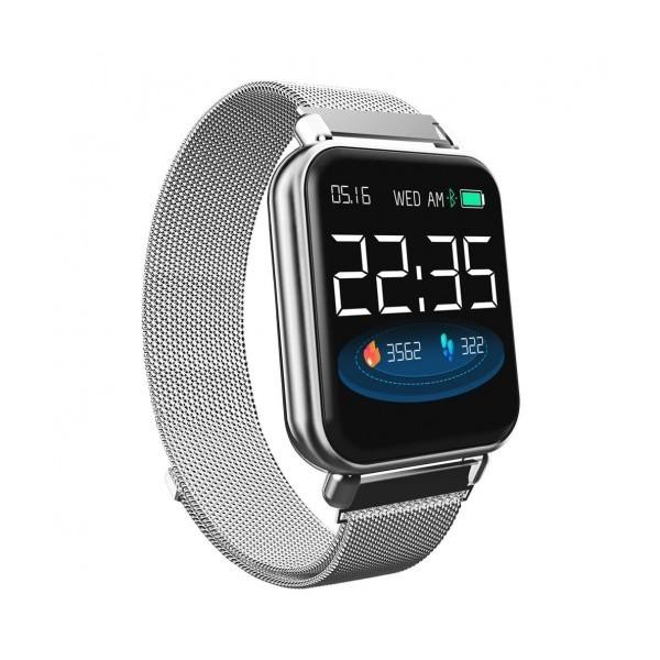 Влагоустойчив смарт часовник Smart technology Y66, Пулс, Кръвно налягане