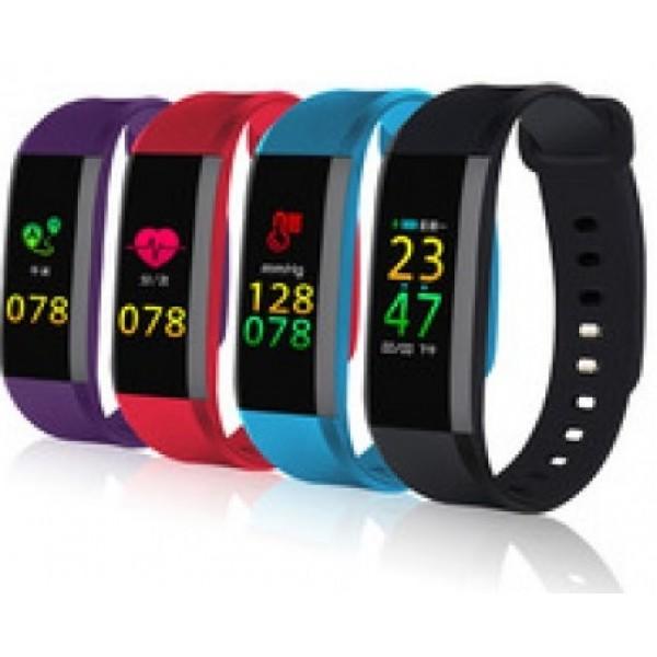 Влагоустойчива смарт гривна Smart technology M8, Пулс, Кръвно налягане