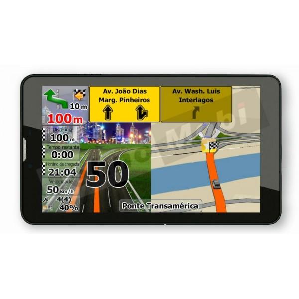 3G ТАБЛЕТ DIVA QC-703GNS С НАВИГАЦИЯ ЕВРОПА