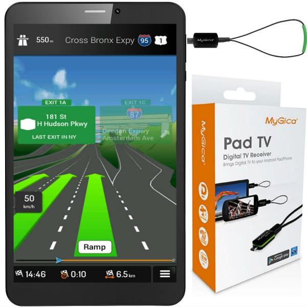 Таблет Prestigio WIZE 3418 4G 8GB 4G, навигация Европа, TV тунер