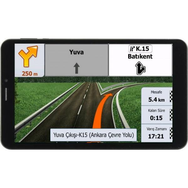 Таблет Prestigio WIZE 3418 4G 8GB 4G, навигация Европа, 8 инча