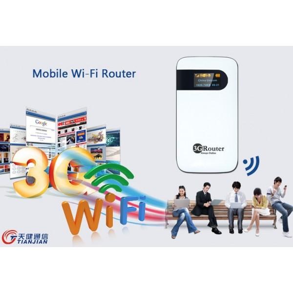 БЕЗЖИЧЕН 3G РУТЕР TJ-EW101