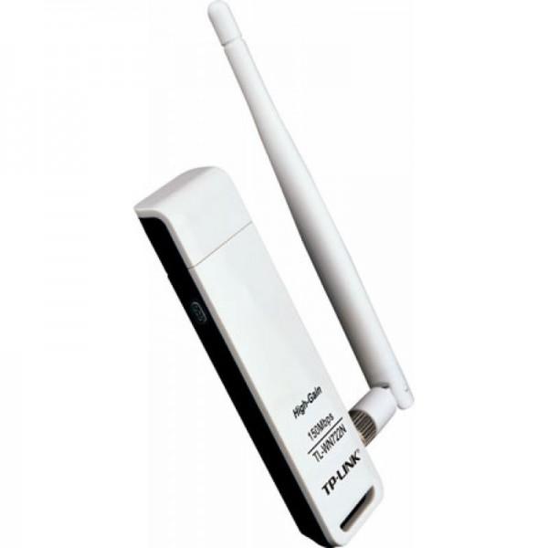 БЕЗЖИЧЕН USB АДАПТЕР TP-LINK TL-WN722N