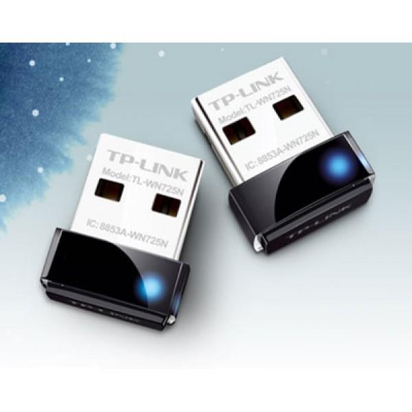БЕЗЖИЧЕН USB АДАПТЕР TP-LINK TL-WN725N