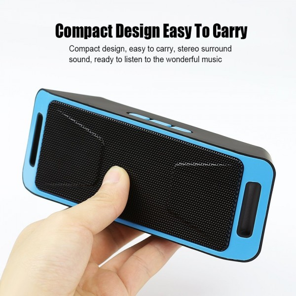 Портативна Блутут колона Wireless BT Speaker Megabass 308