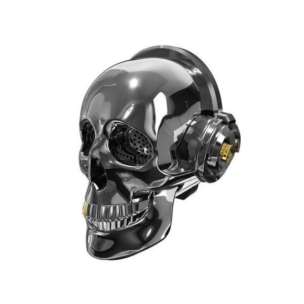 ПОРТАТИВНА BLUETOOTH КОЛОНКА С РАДИО Skull OneDer V7