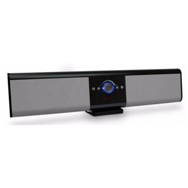 Мощна безжична Bluetooth  колона Soundbar с тъч контрол, BT и дистанционно Super Bass Speaker TG018